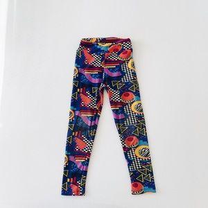 80's inspired print leggings